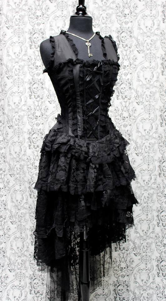 PARIS CABARET DRESS - BLACK
