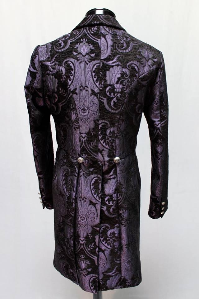 Victorian Tailcoat Purple Black Tapestry Shrine Of